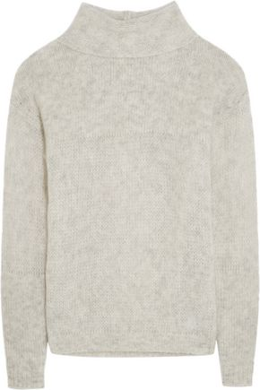 FRAME Le Open Mix Stitch knitted sweater