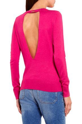 MICHAEL MICHAEL KORS Cutout knitted sweater