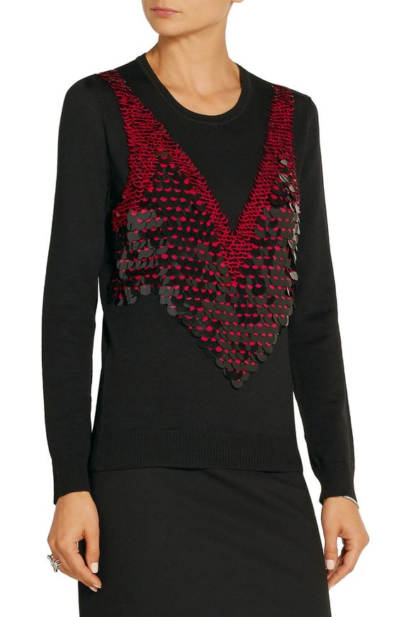 Powell embellished merino wool sweater | ALTUZARRA | Sale up to 70% off |  THE OUTNET