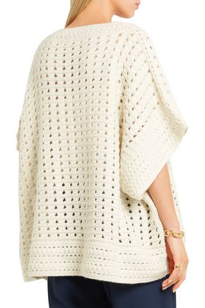 CHLOÉ Crochet-knit sweater