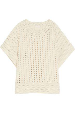 CHLOÉ Crochet-knit sweater