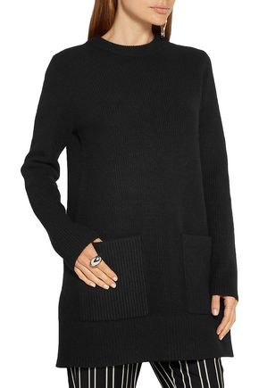 PROENZA SCHOULER Ribbed wool and cashmere-blend sweater