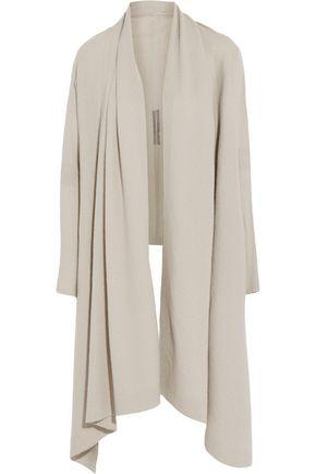 RICK OWENS Boiled cashmere cardigan