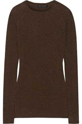 HAIDER ACKERMANN Ribbed wool and cashmere-blend sweater