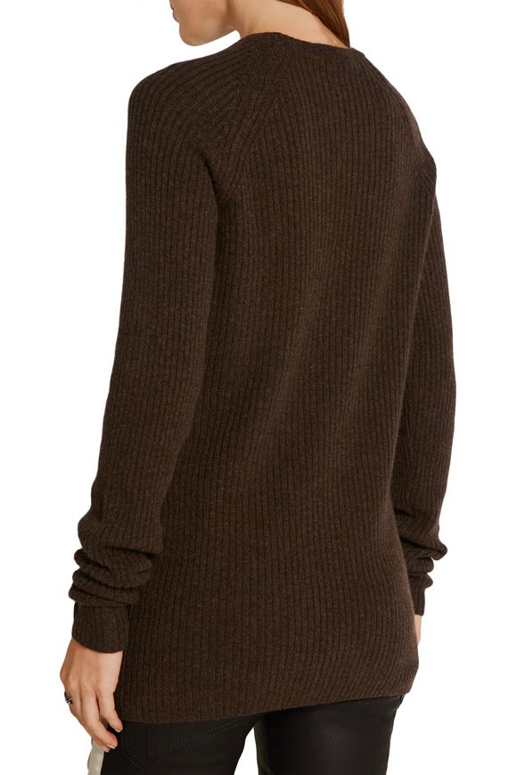 Ribbed wool and cashmere-blend sweater | HAIDER ACKERMANN | Sale up to 70%  off | THE OUTNET