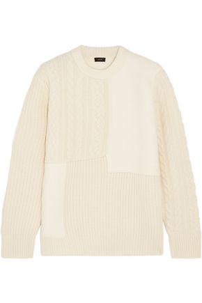 JOSEPH Iconic paneled wool sweater