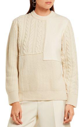JOSEPH Iconic paneled wool sweater