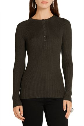 GABRIELA HEARST Thomas cashmere and silk-blend top