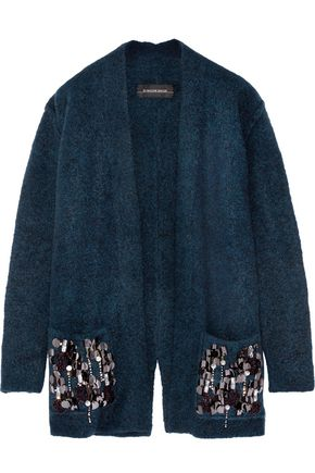 BY MALENE BIRGER Josemaria embellished wool-blend cardigan