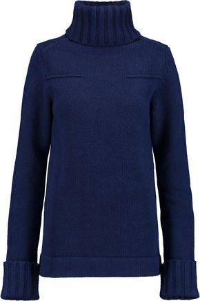 ANTONIO BERARDI Wool and cashmere-blend turtleneck sweater