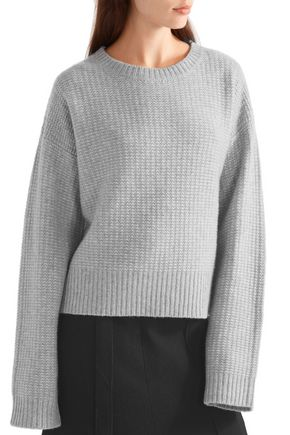 PROTAGONIST Chunky-knit cashmere sweater
