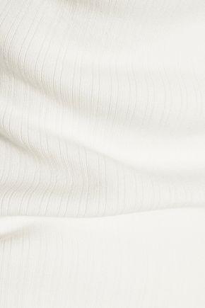 ALEXANDER WANG Cutout stretch-knit top