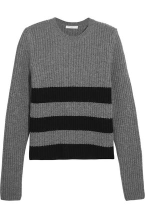 EQUIPMENT Carson intarsia-knit wool and alpaca-blend sweater