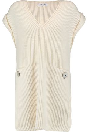 10 CROSBY DEREK LAM Wool and cashmere-blend sweater