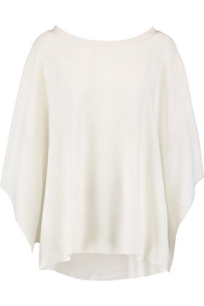 HALSTON HERITAGE Knitted poncho