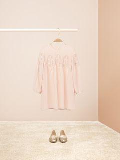 Guipure dress
