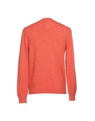 Фото 2 - Мужской свитер H953 лососево-розового цвета