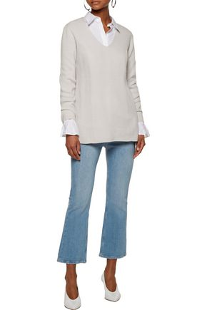 DUFFY Ribbed cashmere sweater