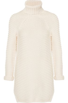 MICHELLE MASON Turtleneck cable-knit sweater