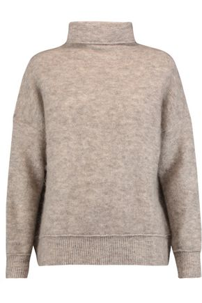 BY MALENE BIRGER Soronco brushed knitted turtleneck sweater
