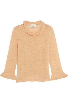 3.1 PHILLIP LIM Fluted wool-blend sweater