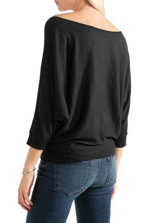 SPLENDID Bailey cutout stretch-knit top