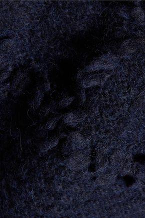 10 CROSBY DEREK LAM Fringed knitted turtleneck tank