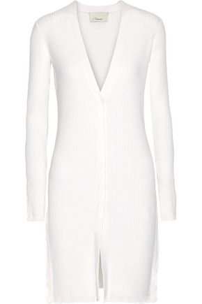 3.1 PHILLIP LIM Ribbed wool-blend cardigan