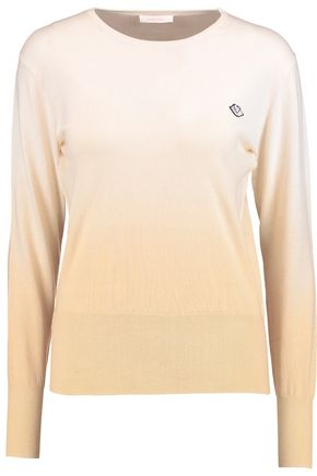 SEE BY CHLOÉ Appliquéd cotton sweater