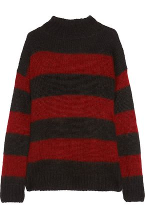 R13 Nancy striped mohair-blend sweater