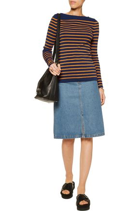 M.I.H JEANS Drew Breton striped merino wool sweater