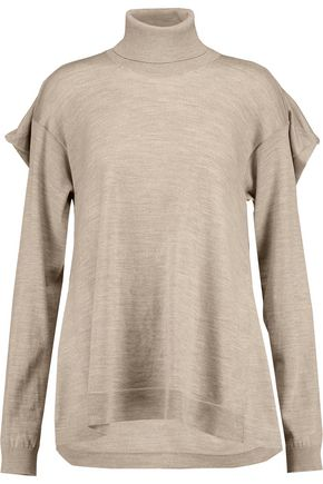 MAISON MARGIELA Draped wool turtleneck sweater