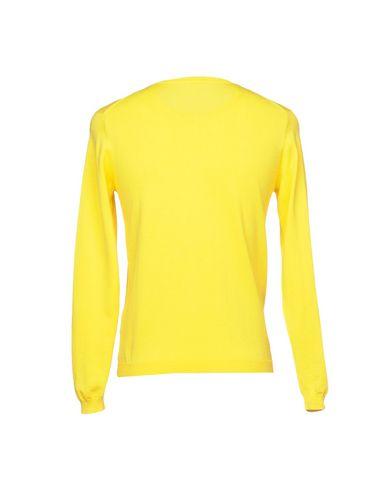 Фото 2 - Мужской свитер SUN 68 желтого цвета