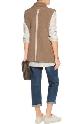 DUFFY Merino wool-blend gilet