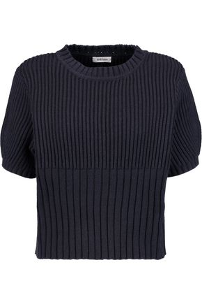 TOTÊME Serreval ribbed cotton-blend sweater