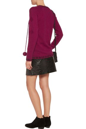 TALITHA Baja merino wool and cashmere-blend sweater