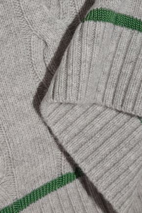 3.1 PHILLIP LIM Cable-knit wool-blend sweater