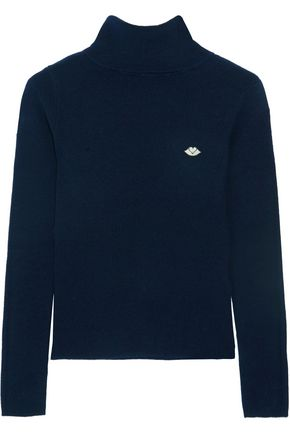 SEE BY CHLOÉ Ribbed-knit turtleneck sweater