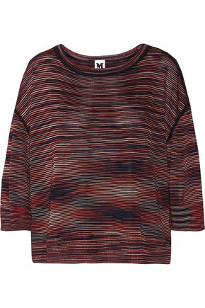 M MISSONI Striped wool-blend sweater