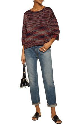 M MISSONI Striped wool-blend sweater