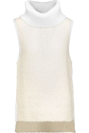 RAG & BONE Adele ribbed wool-blend turtleneck sweater