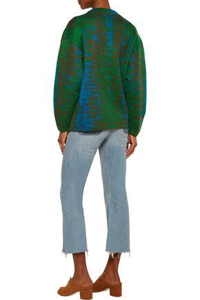 M MISSONI Mohair-blend jacquard sweater