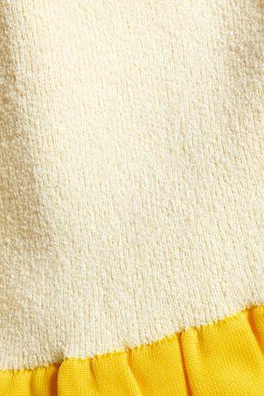 J.W.ANDERSON Ruffle-trimmed bouclé sweater