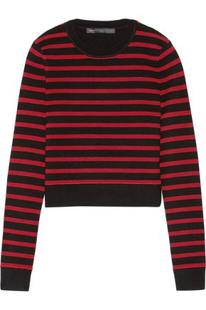 MARC BY MARC JACOBS Jacquelyn cropped stretch wool-blend sweater