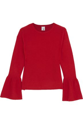 IRIS & INK Anna fluted cashmere sweater
