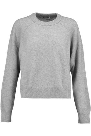 T by ALEXANDER WANG Wool and cashmere-blend sweater