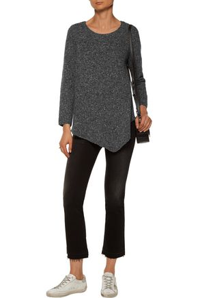 JOIE Tambrel asymmetric wool-blend sweater