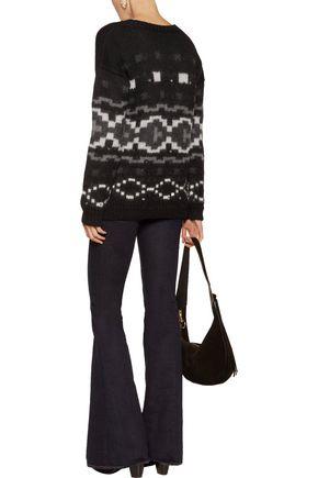 TALITHA Tahoe intarsia-knit alpaca sweater