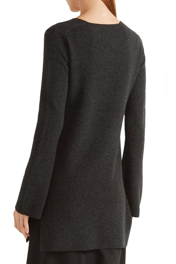Waffle-knit wool and cashmere-blend sweater   HELMUT LANG   Sale up to 70%  off   THE OUTNET
