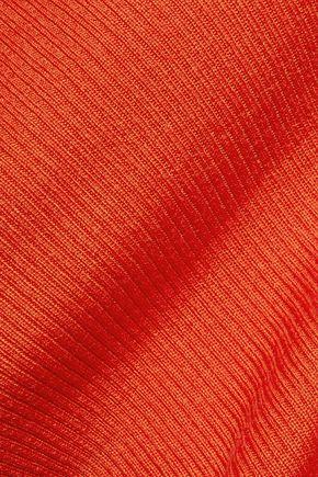 DIANE VON FURSTENBERG Sutton ribbed wool and silk-blend turtleneck sweater